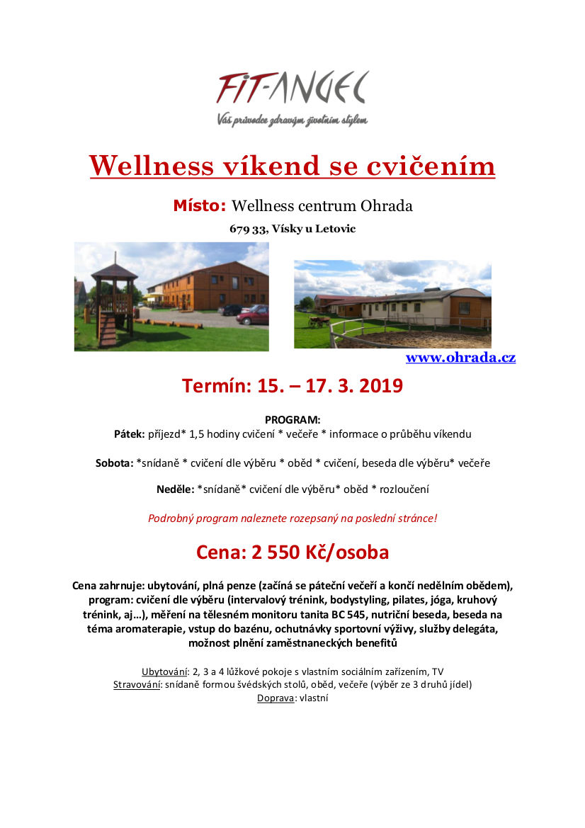 Wellness víkend
