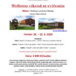Wellness víkend se cvičením<br /> 20–22.3.2020