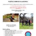 Kurz severské chůze – Nordic Walking, začátečníci