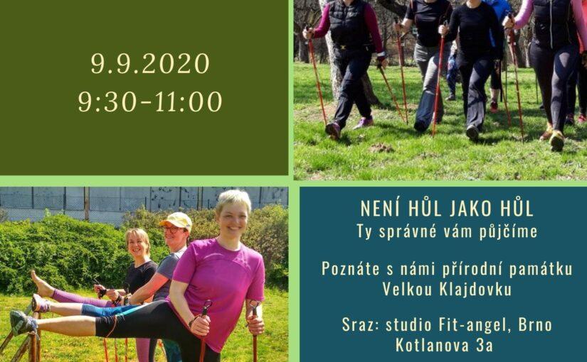 Nordic walking pro začátečníky